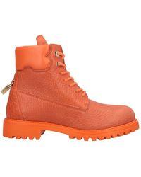 Buscemi Ankle Boots - Orange