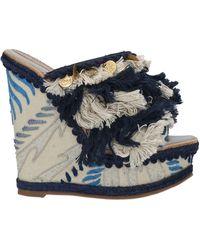Santoni Sandals - Blue