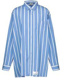 Vetements Camicia - Blu