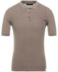 Exte Polo Shirt - Brown