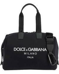 Dolce & Gabbana Travel Duffel Bags - Black
