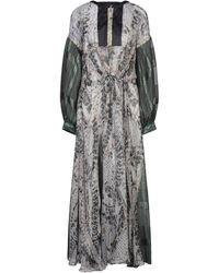 Share Spirit Langes Kleid - Grau
