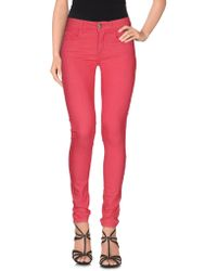 Maison Espin - Denim Trousers - Lyst