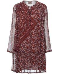 MÊME ROAD Short Dress - Red