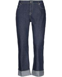 TRUE NYC Denim Trousers - Blue