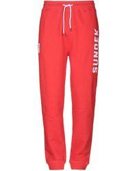 Sundek Casual Trouser - Red