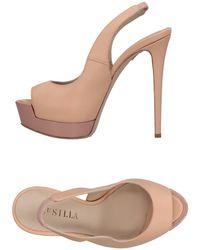 Le Silla Sandals - Natural