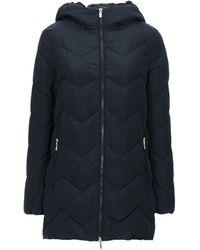 Geox Synthetic Down Jacket - Blue