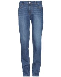 Trussardi - Denim Trousers - Lyst