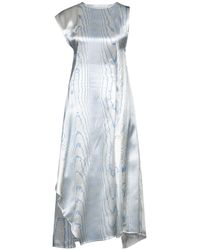Victoria Beckham Midi Dress - White
