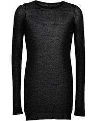 Rick Owens T-shirt - Noir