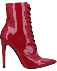 Danielle Guizio Ankle Boots - Red