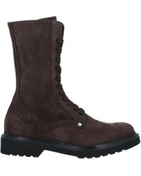 Paciotti 308 Madison Nyc Ankle Boots - Brown