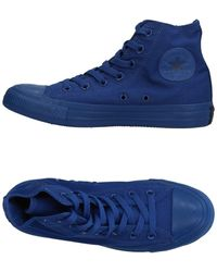 Converse High Sneakers & Tennisschuhe - Blau
