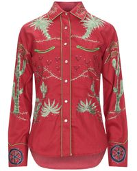 Jessie Western Shirt - Red