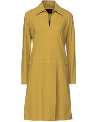 Rrd Short Dress - Yellow
