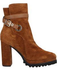 Elvio Zanon Ankle Boots - Brown