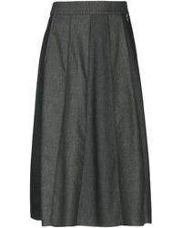 Roberta Scarpa 3/4 Length Skirt - Multicolor