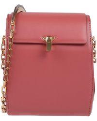 the VOLON Cross-body Bag - Pink