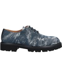 Emporio Armani Lace-up Shoe - Blue