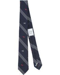 Thom Browne Tie - Blue