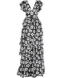 Fausto Puglisi Long Dress - Black