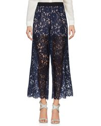 SCEE by TWINSET Trouser - Blue
