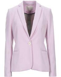 Maison Scotch Suit Jacket - Purple