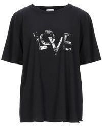 Saint Laurent - T-shirt - Lyst