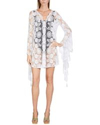 Miguelina Cover-up - White