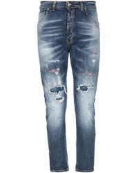 Takeshy Kurosawa Pantalones vaqueros - Azul