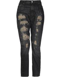 Twin Set Denim Trousers - Black