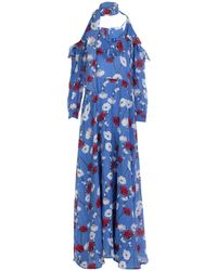 Anonyme Designers Long Dress - Blue