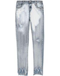 Jijil Denim Trousers - Blue