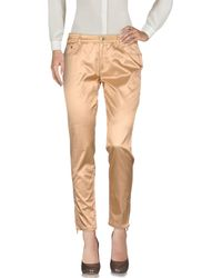 Versace Casual Trousers - Natural