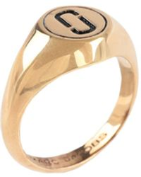 Marc Jacobs Ring - Metallic