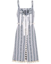 Altuzarra 3/4 Length Dress - Purple
