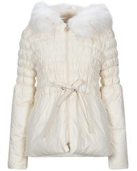 Relish Synthetic Down Jacket - White