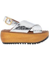 Marni Sandals - Metallic