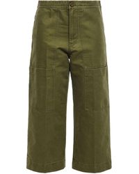 Acne Studios Cropped Pants - Green