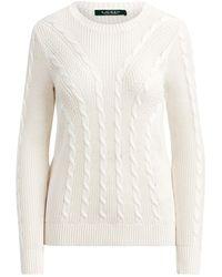 Lauren by Ralph Lauren Sweater - White