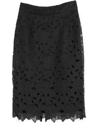 Caractere Midi Skirt - Black