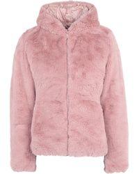 Save The Duck Teddy coat - Rosa