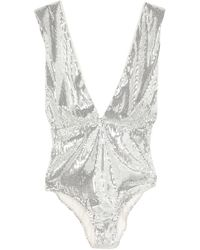 In the mood for love Top - Metallic