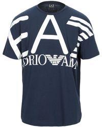 EA7 T-shirt - Bleu