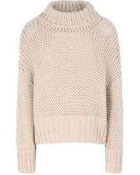 Free People Turtleneck - Natural