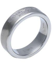 Emporio Armani Ring - Metallic