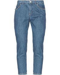 Miu Miu Pantalon en jean - Bleu