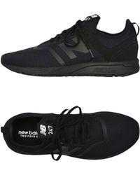 New Balance Low Sneakers & Tennisschuhe - Schwarz