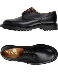Sanders Zapatos de cordones - Negro